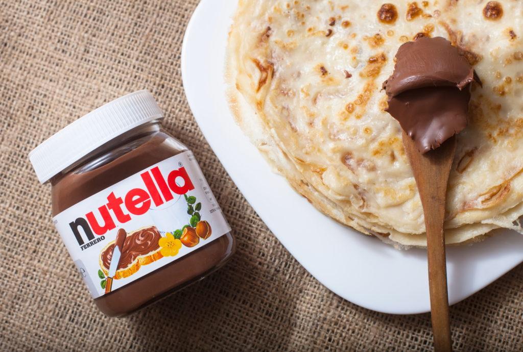 Nutella Pfannkuchen