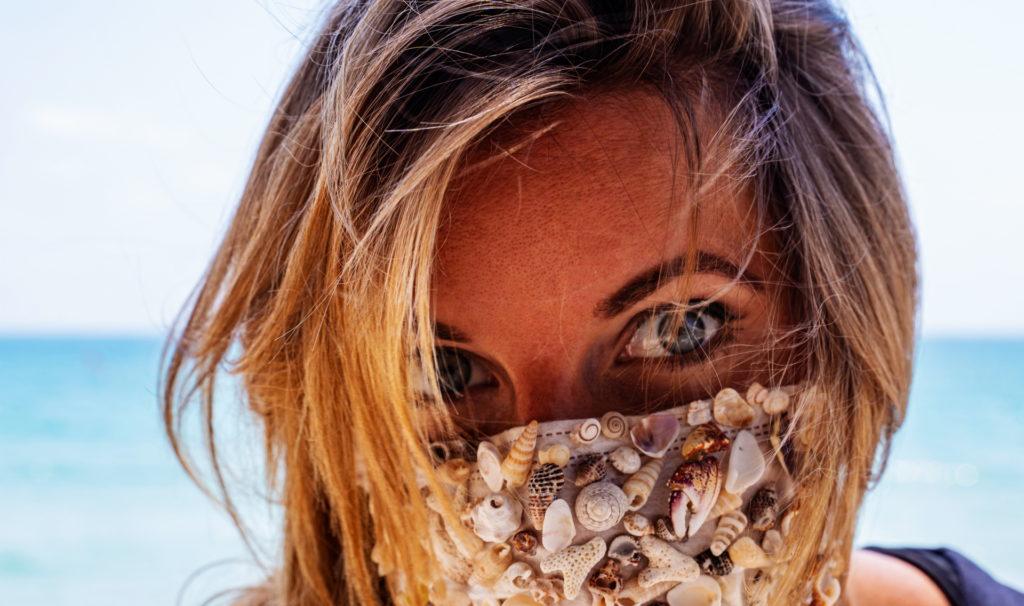Strandurlaub Corona Mundschutz
