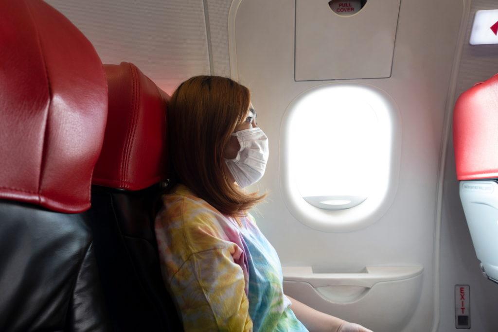 Maskenpflicht Flugzeug