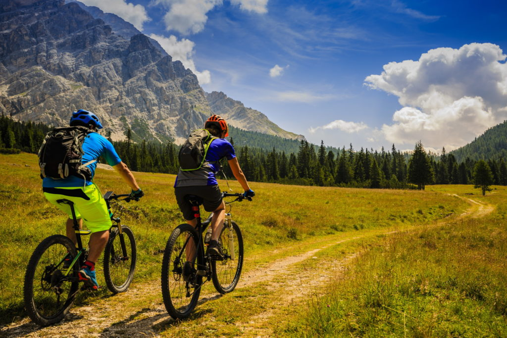 Mountainbike Dolomiten