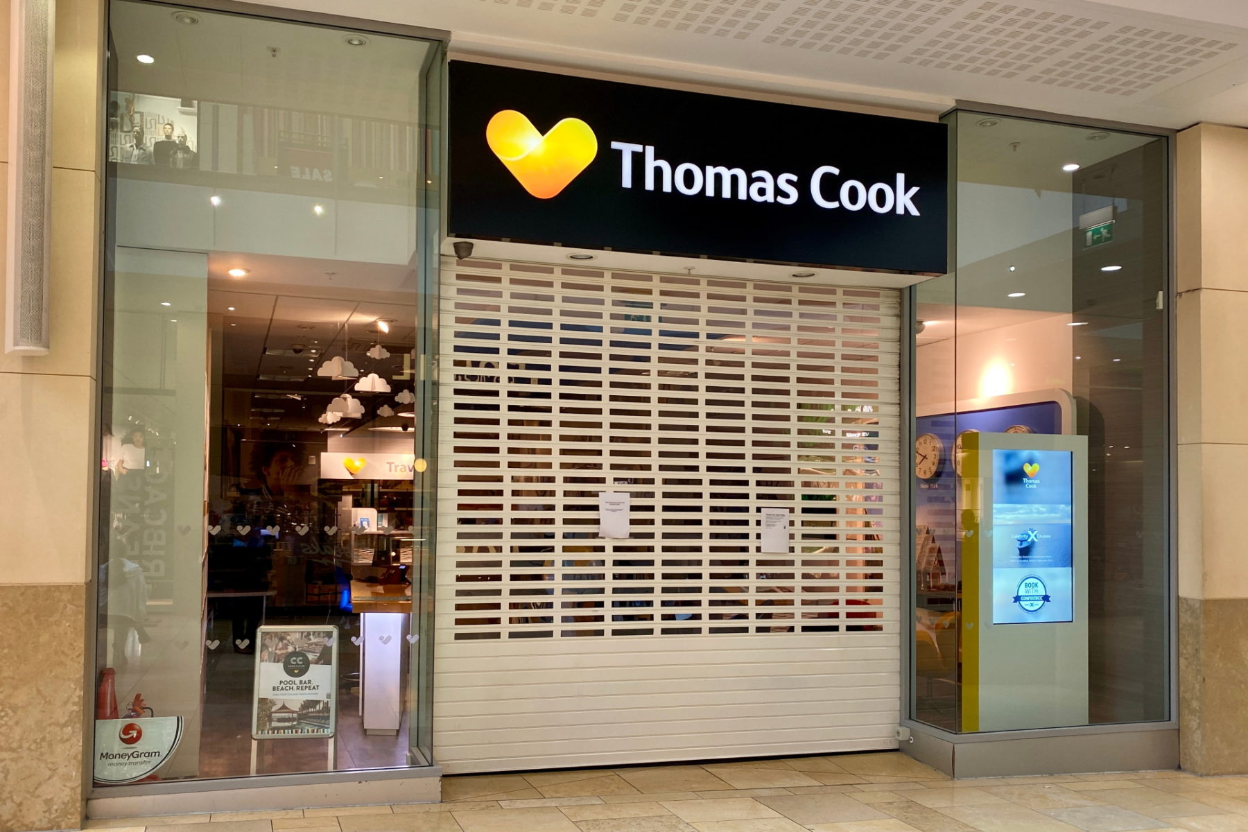 Thomas Cook insolvent