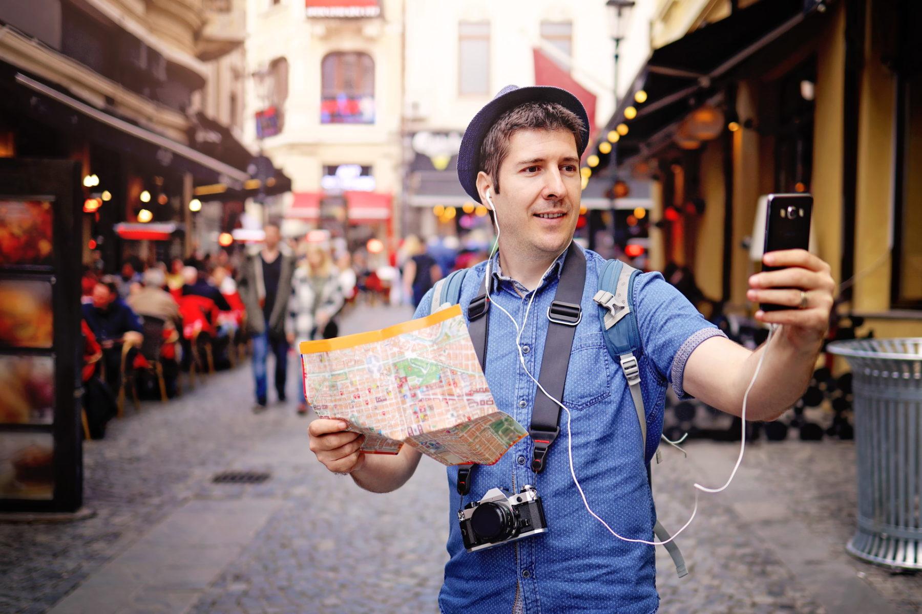 Tourist Smartphone