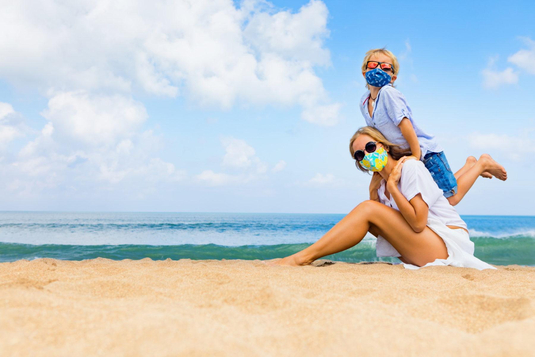 safe travel beach