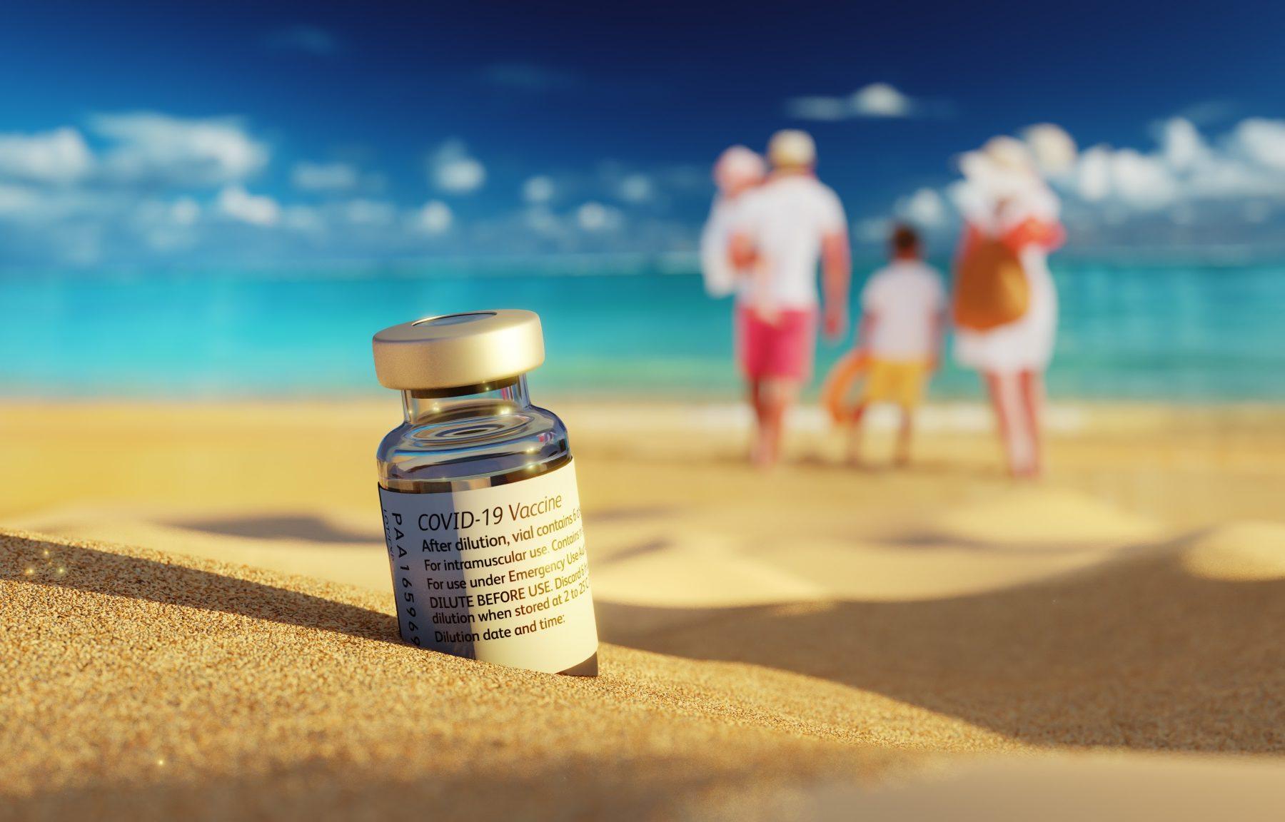 Corona-Impfung im Urlaub
