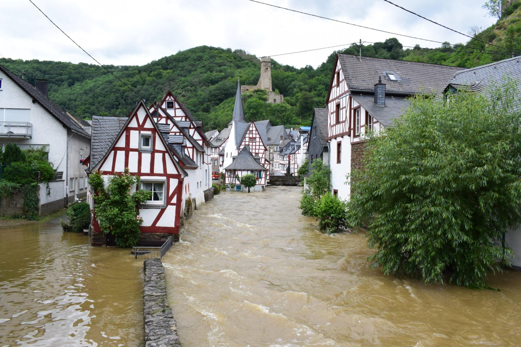 Hochwasser in der Eifel 2021